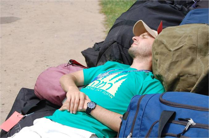 sleeping-on-the-first-day-of-camp